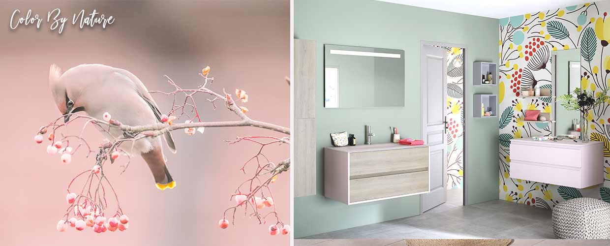bathroom Frame roze - Sanijura